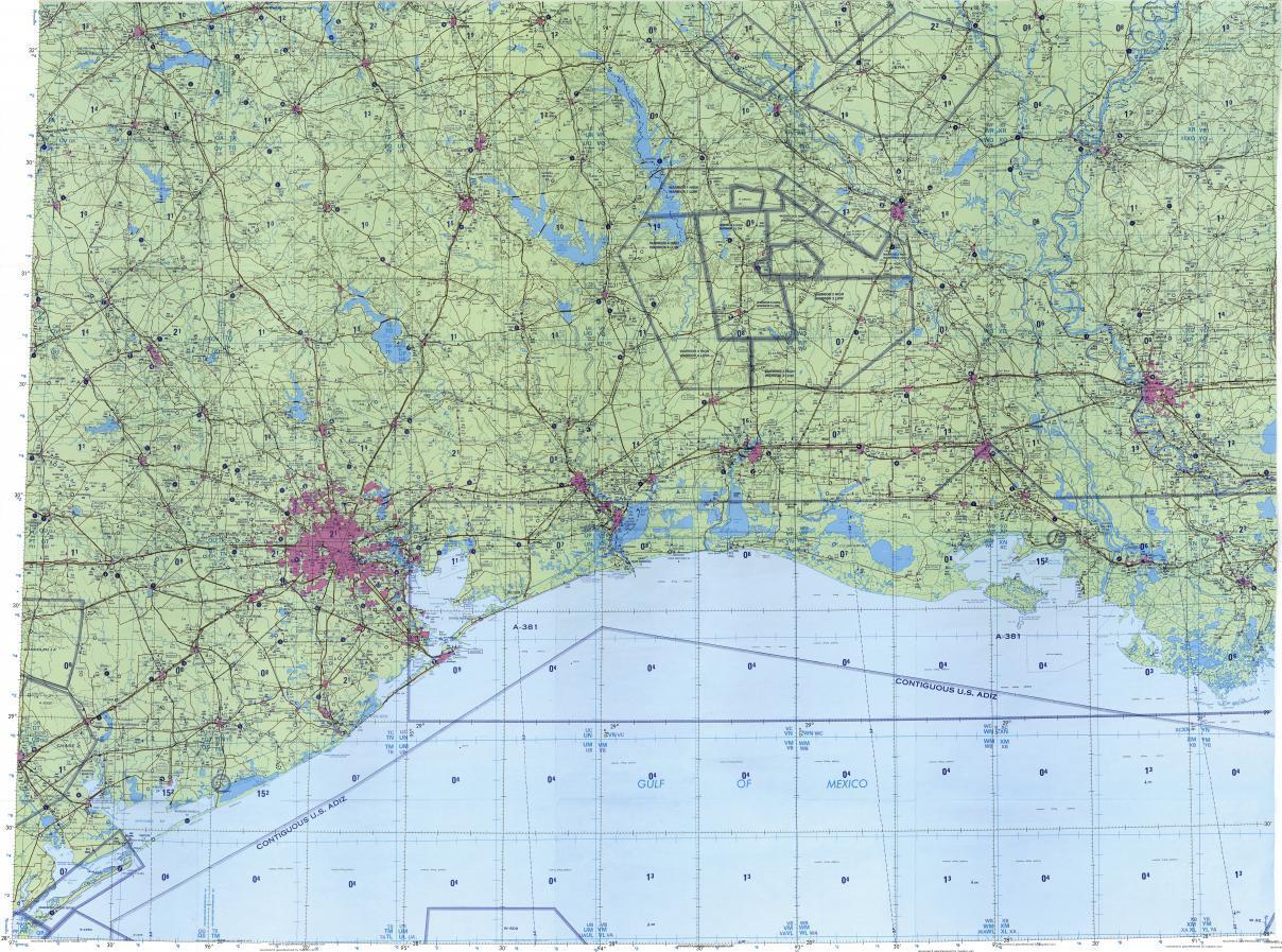 Houston topografikoak mapa mapa Topografiko Houston Texas AEB